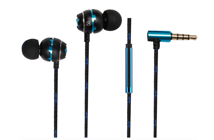 E1291 Metal wired earphone